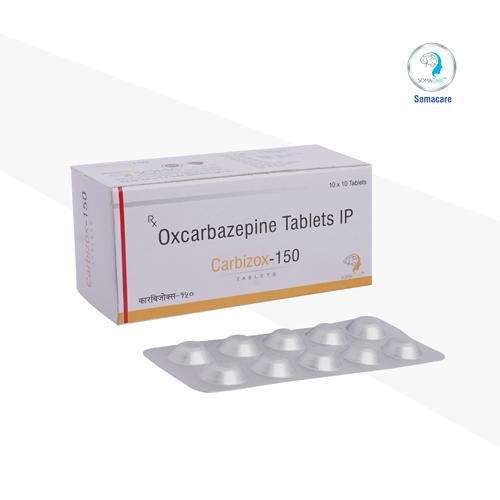 carbizox-150 - Oxcarbazepine 300mg