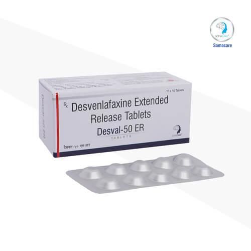desval-50 er-Desvenlafaxine 50mg (Sustained Release )