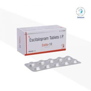 exilite-10-Escitalopram 10mg