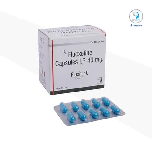 fluxit-40-Fluoxetine 40mg Capsules