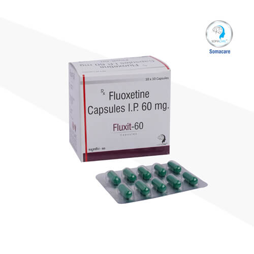 fluxit-60-Fluoxetin 60mg Capsules