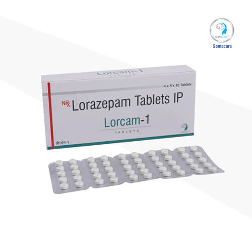 lorcam-1-Lorazepam 1mg