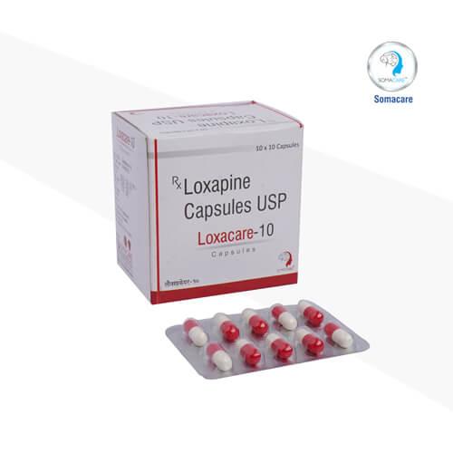 loxacare-10-Loxapin 10mg Capsules