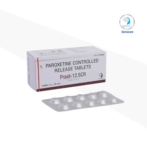 praxit-12.5cr-Paroxetine CR 12.5 mg Tablets (Controlled Release )