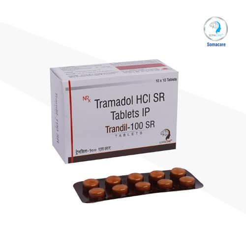 trandil-100 sr-Tramadol 100mg SR (NRX)